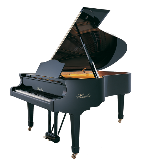 h-210-black-polish Haessler grand piano