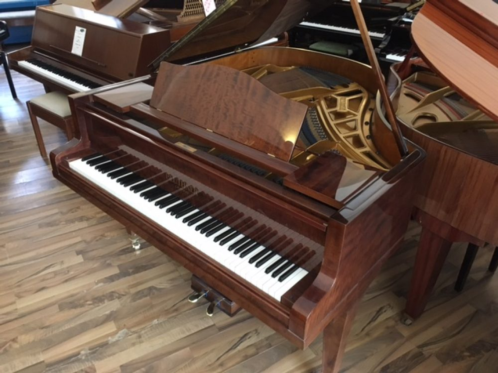 Bechstein Grand Piano Fiddleback Mahogany