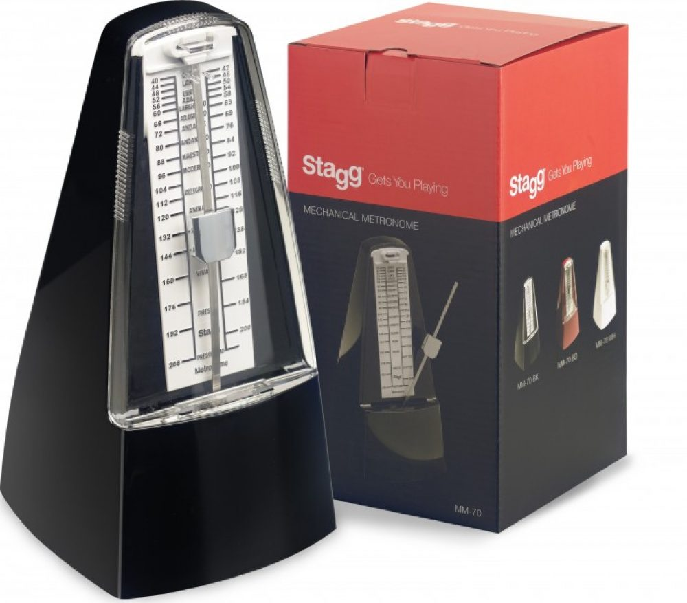 Stagg Metronome black