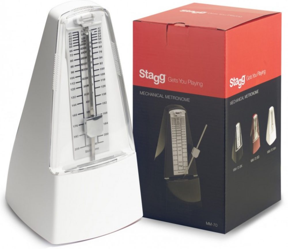 Stagg Metronome white
