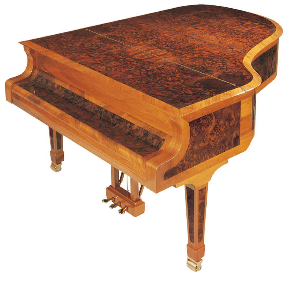 h-175-burl-inlay-corner Haessler grand piano