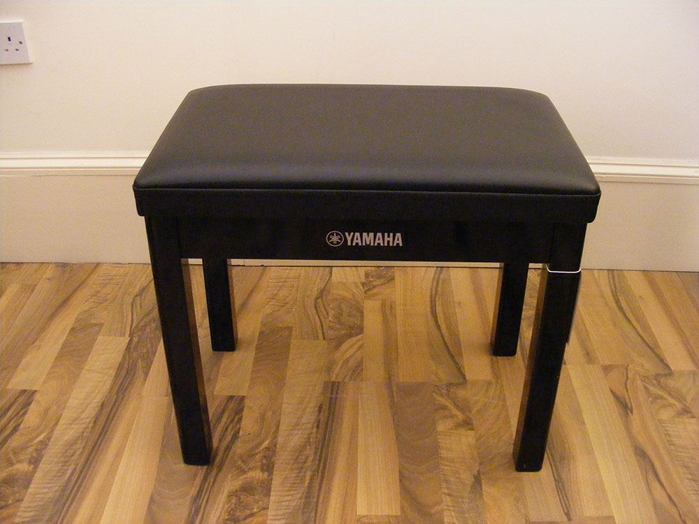 Yamaha Black Piano Stool