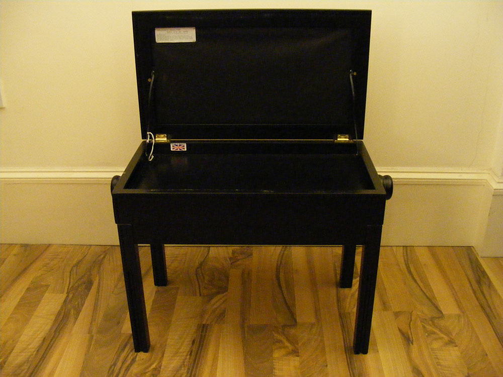 Adjustable Piano Stool with Storage