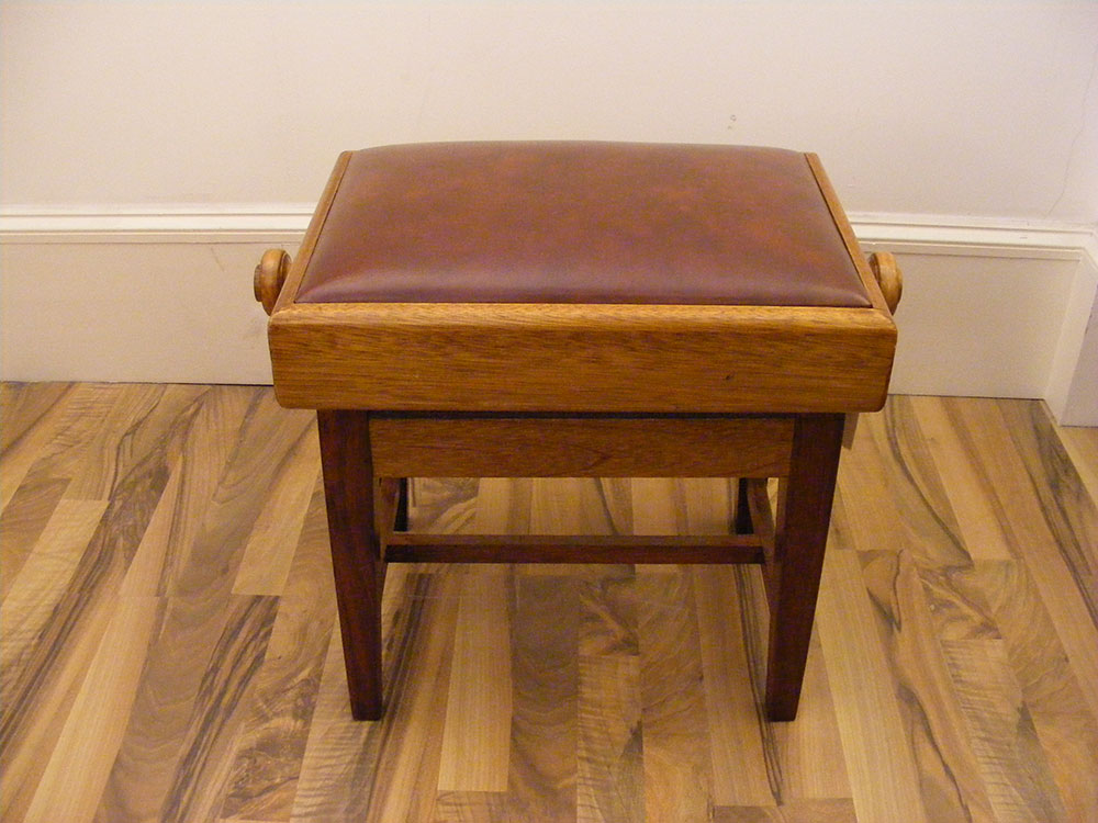 Adjustable Institutional/School Piano Stool