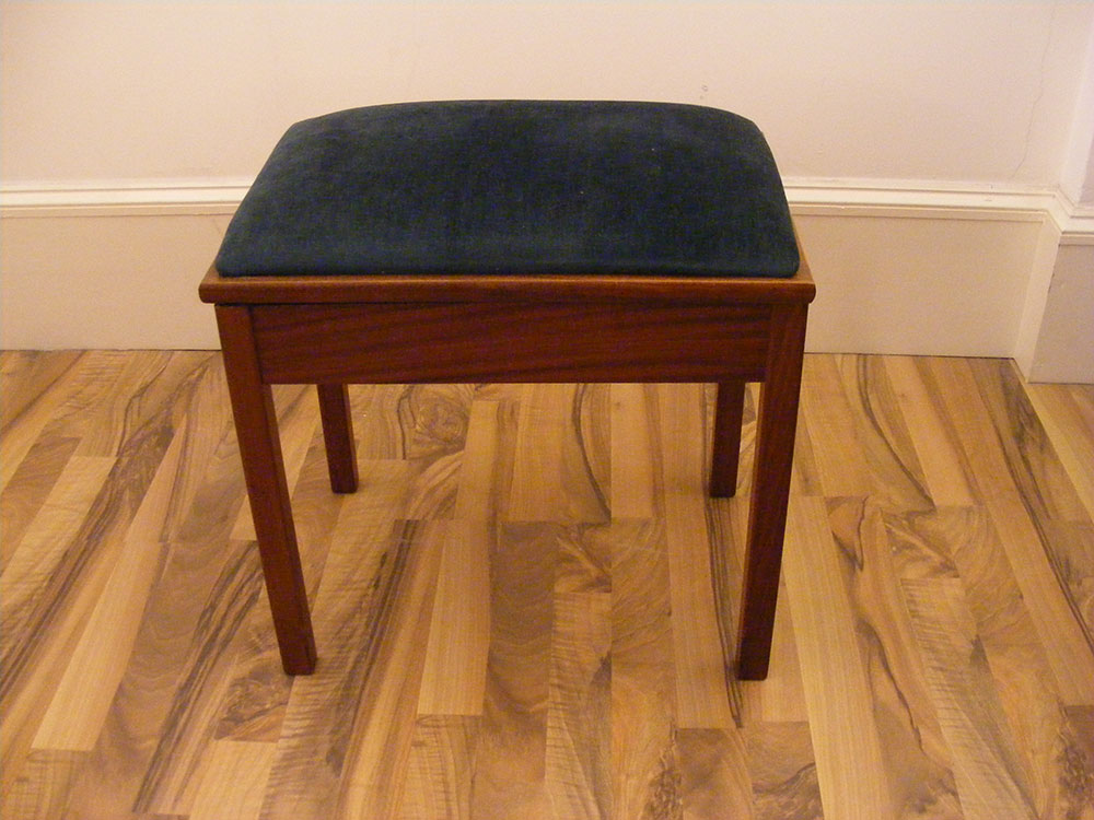 Box Piano Stool