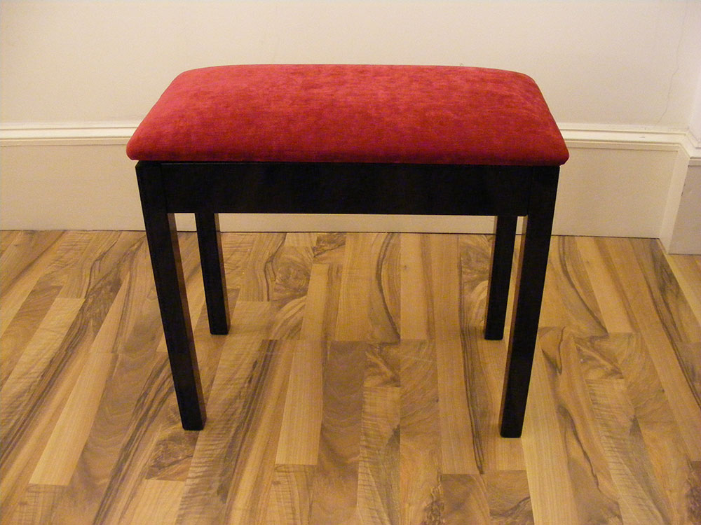 LSM Box Piano Stool