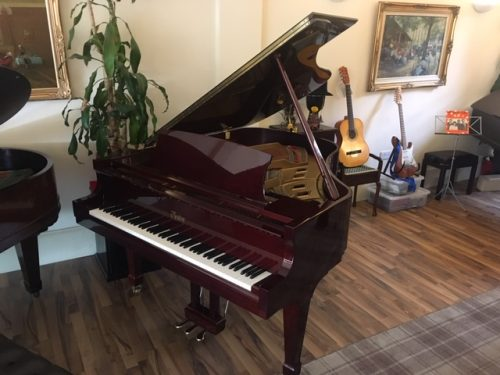 Boston Mahogany Grand Piano