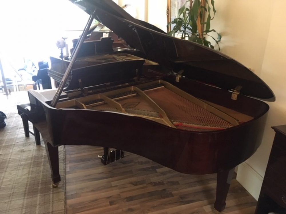 Boston Mahogany Grand Piano