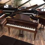 challen mahogany grand piano