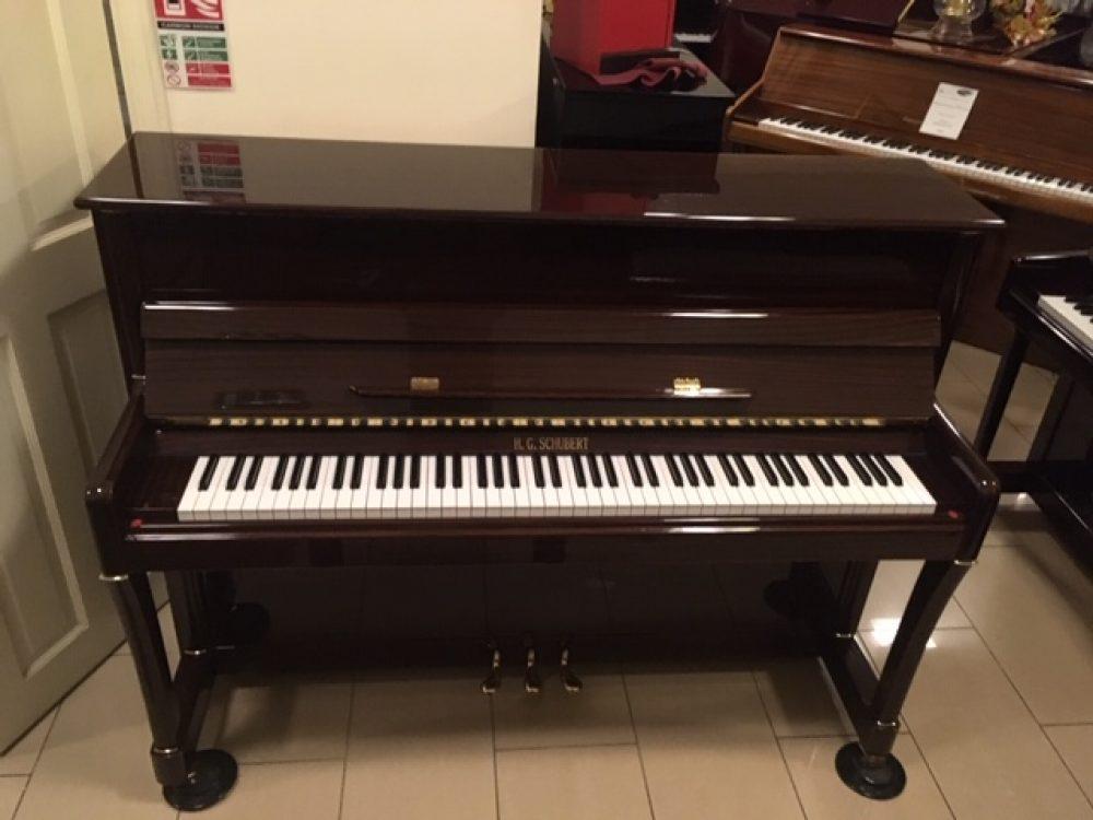 H.G Schubert Mahogany Piano