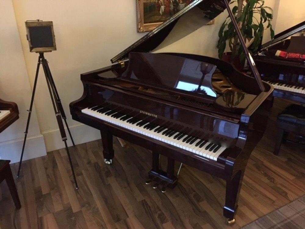 Steinmayer 142 Mahogany Grand Piano