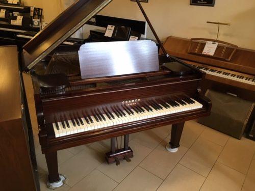 Cramer Baby Grand Mahogany Piano