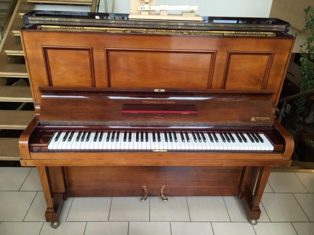 Steinway Model K Upright Piano