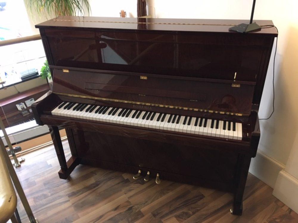 Bohemia 125 Burr Walnut Piano