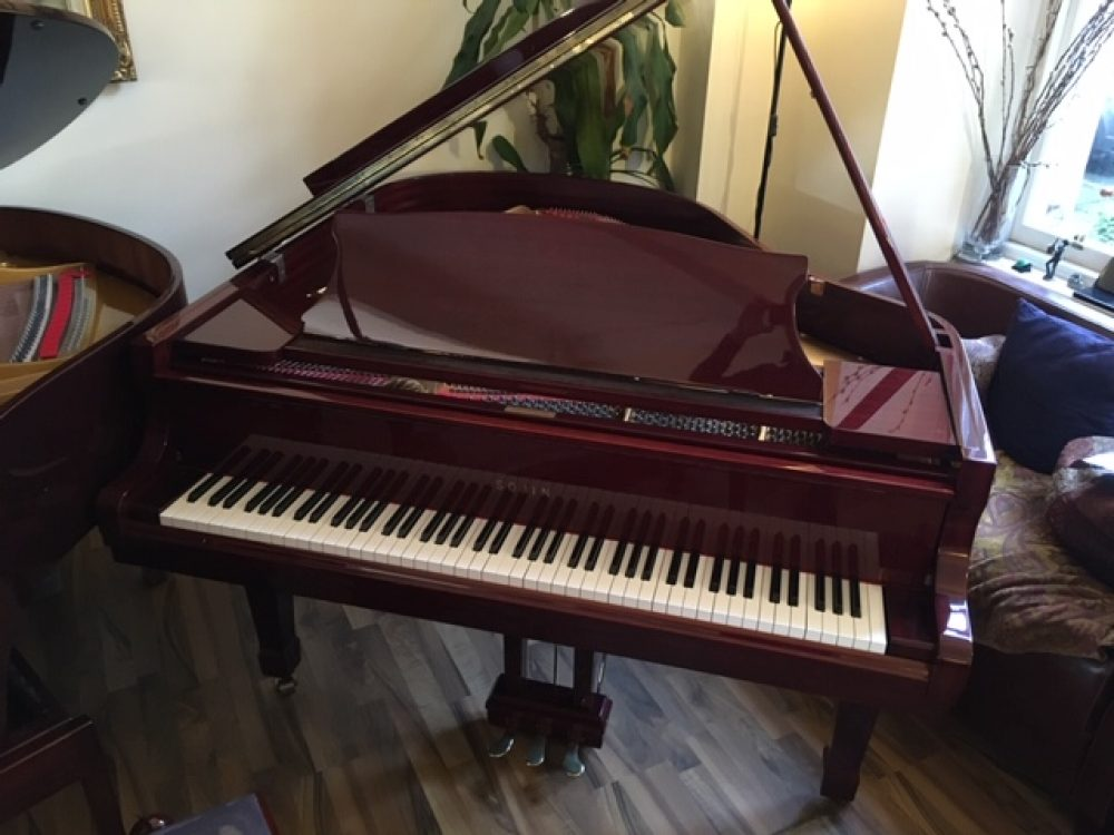 Sojin DG1 Mahogany Grand Piano